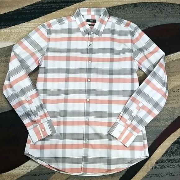 Hugo Boss Men's Button up Dress Shirt